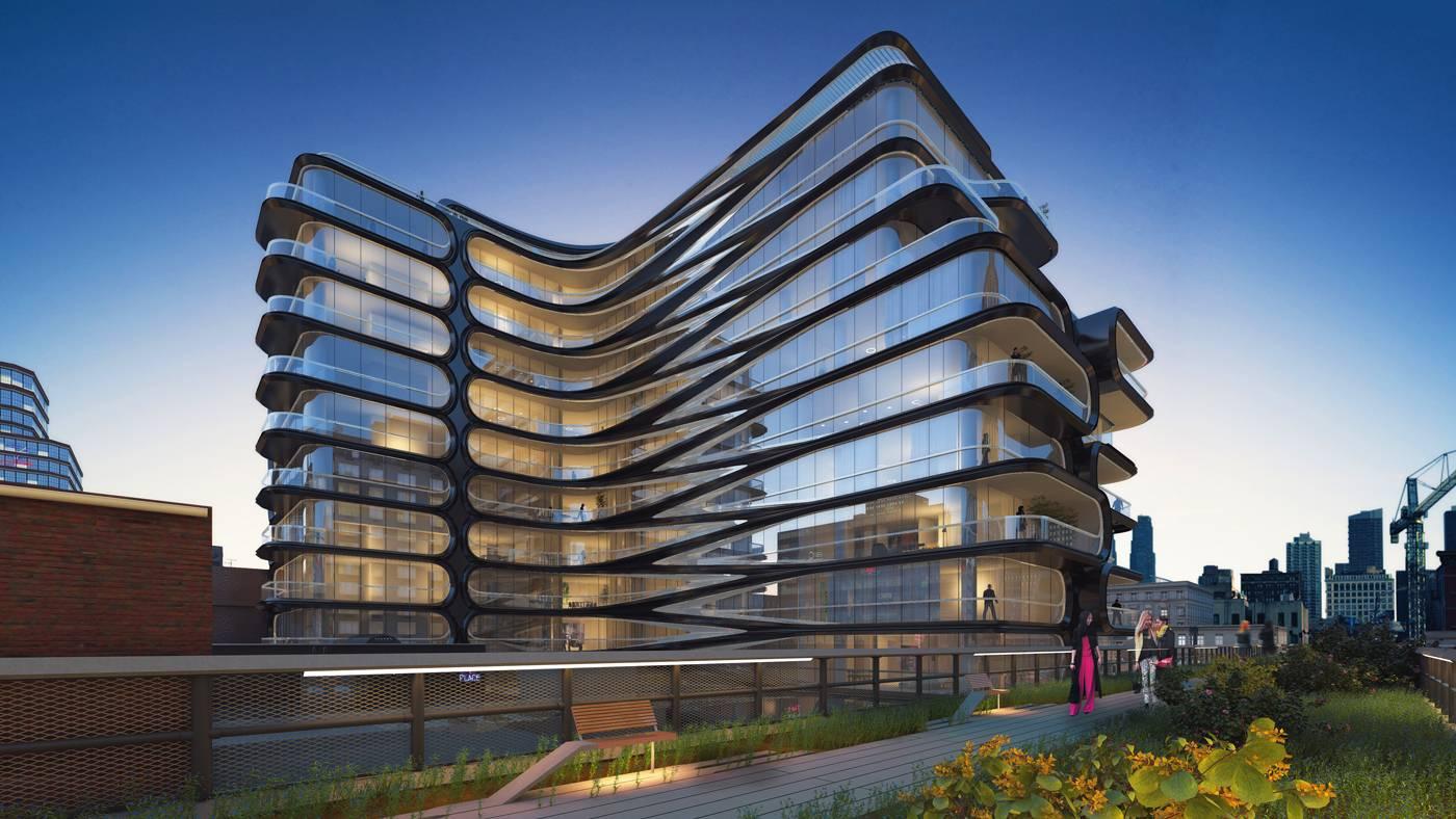 Zaha Hadid 28th Highline Project 01