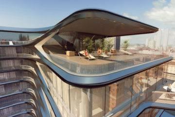 Zaha Hadid 28th Highline Project 05