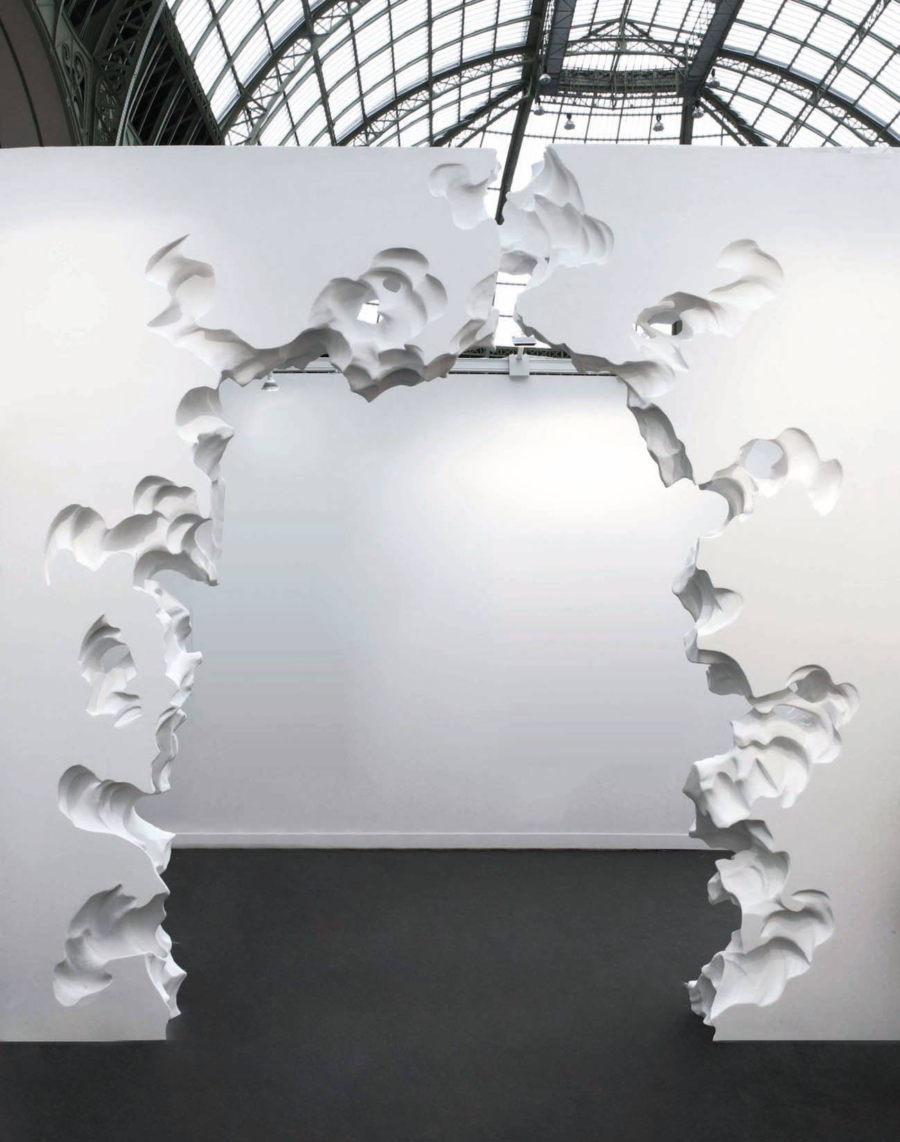 « Wall Erosion » de Daniel Arsham.