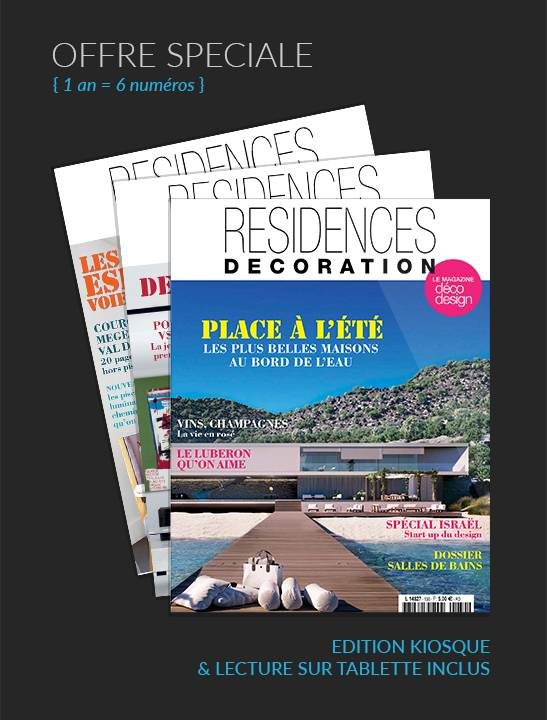 Abonnement magazine 1 an residences decoration magazine for Abonnement magazine design
