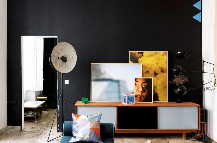 L 39 esprit boheme chic mobilier vintage et palette for Interieur chic parisien