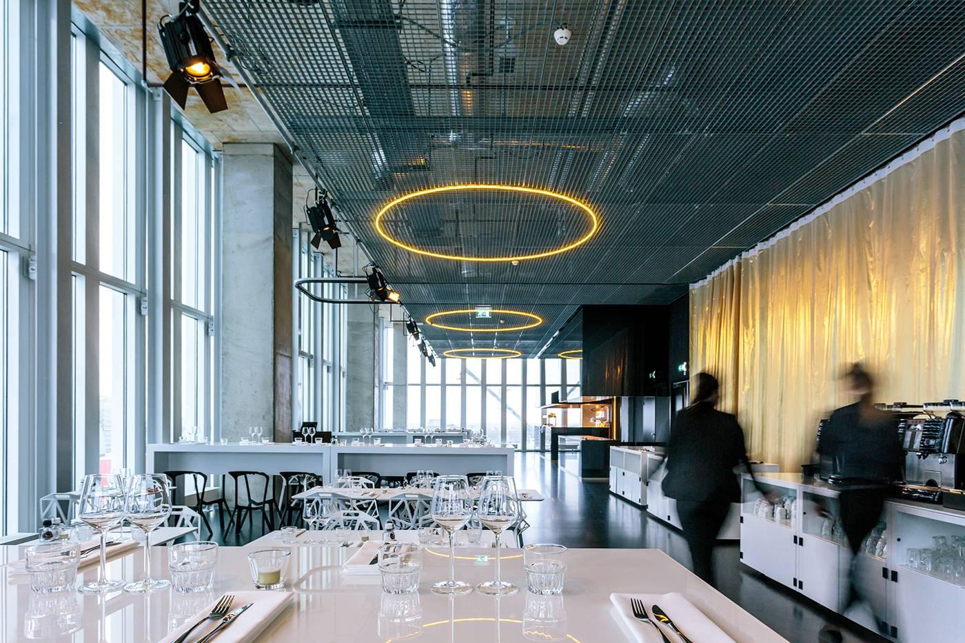 Le Nhow Hotel à Rotterdam.