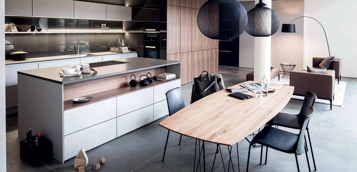 15 cuisines pro et conviviales id es d co meubles et for De cuisines conviviales