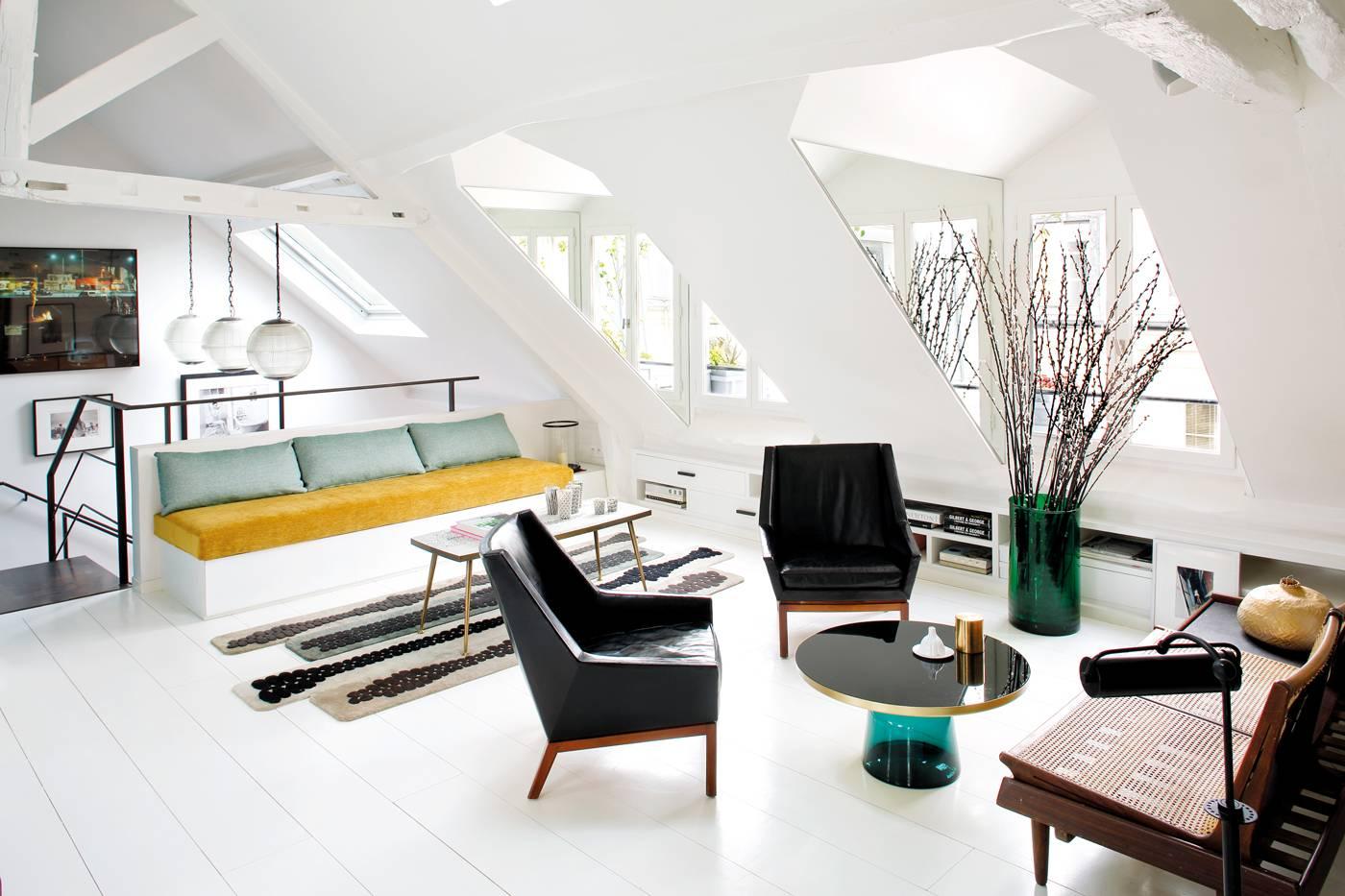 Chez sarah lavoine id es d co meubles et int rieurs design residences decoration magazine - Sistemas de iluminacion interior ...