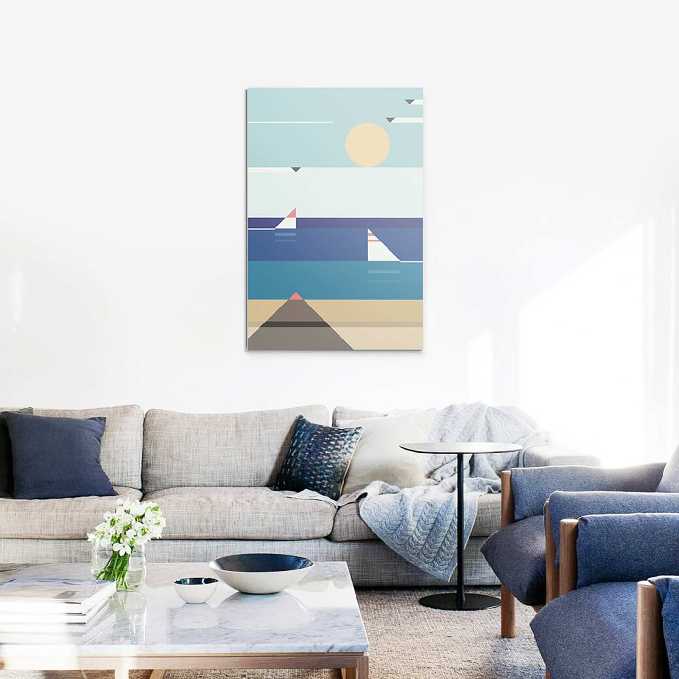 Salon-Contemporain-Tableau-Quiet-Sea-de-Antony-Squizzato ...