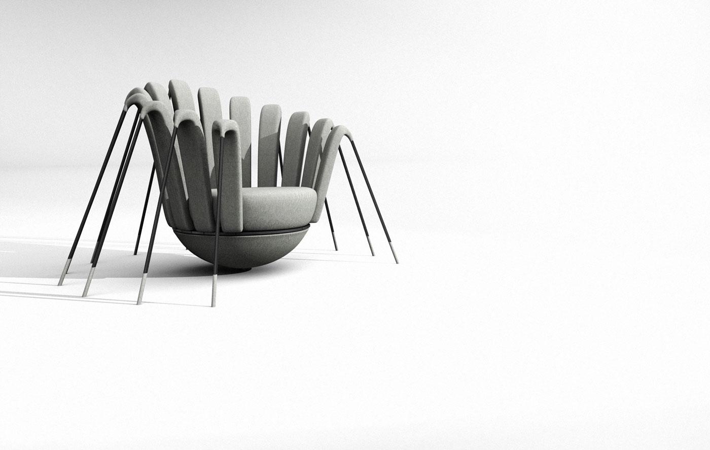 Les araign es de marc ange id es d co meubles et for Meuble angele circulaire