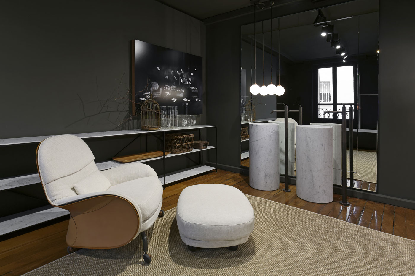 boffi de padova et ma u studio s 39 expriment paris. Black Bedroom Furniture Sets. Home Design Ideas