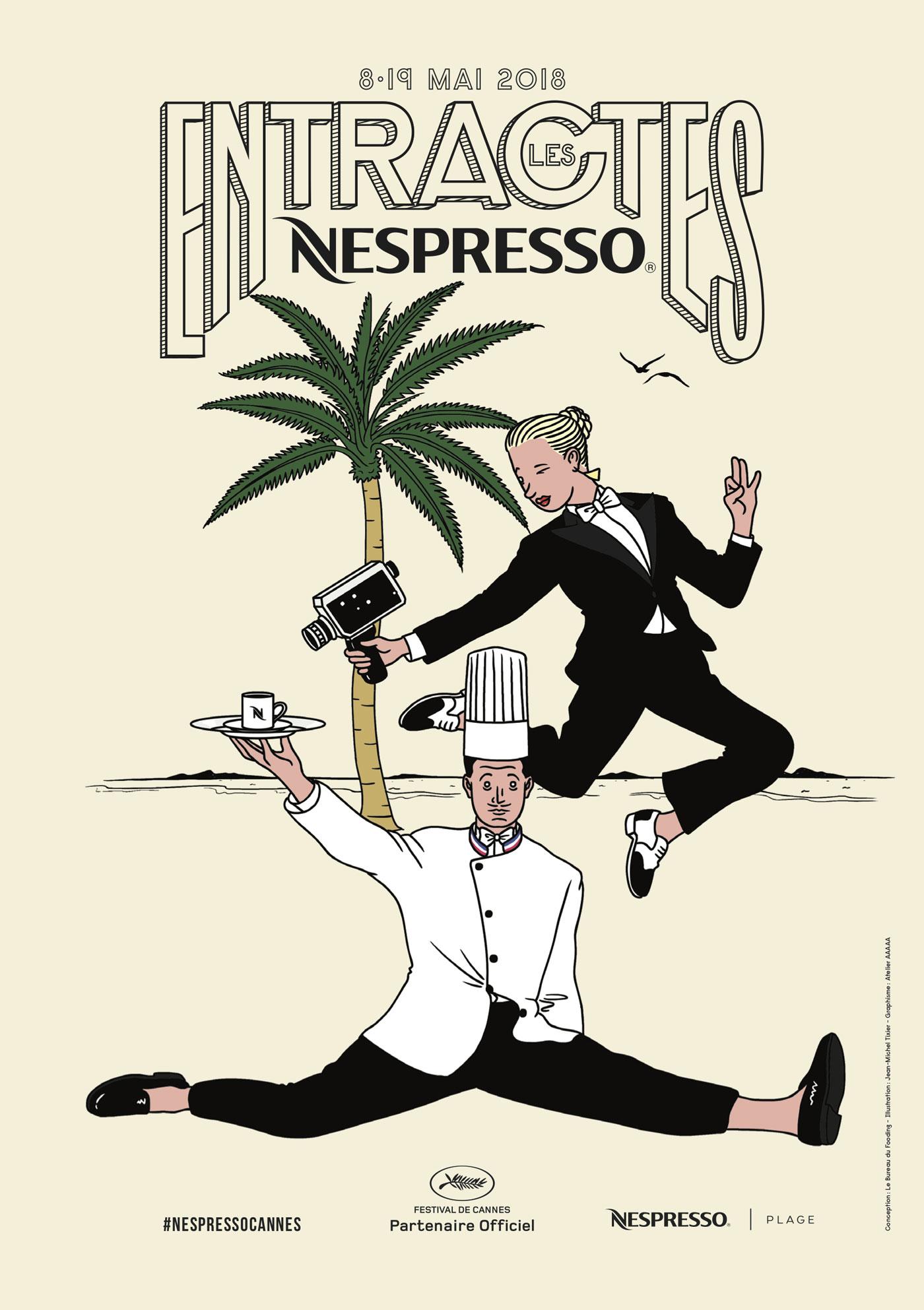 nespresso à l'affiche du festival de cannes   idées déco, meubles et