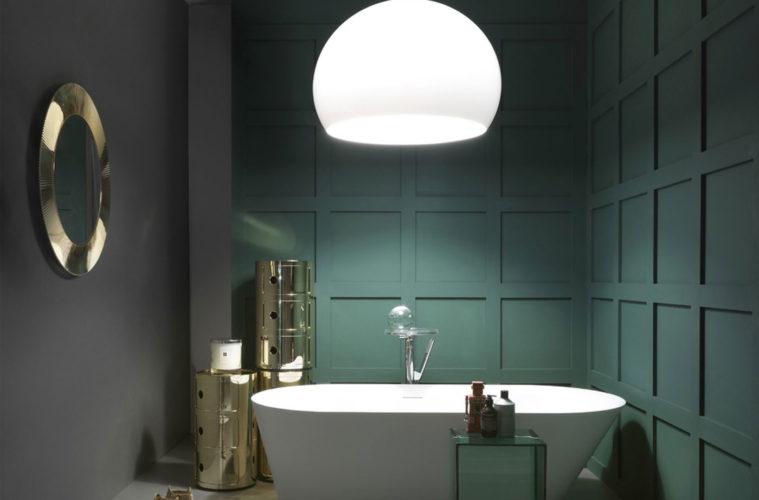 kartell salle de bain Une salle de bain design grâce à KARTELL et LAUFEN