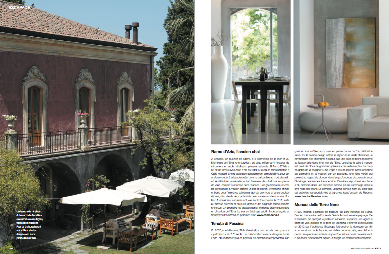 Residences Decoration N.145 – Residences Decoration Magazine