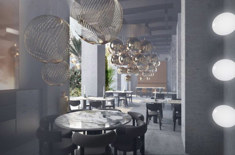 75c2fb709569 Tom Dixon ouvre un restaurant-showroom pendant le salone del mobile à Milan    le Manzoni !