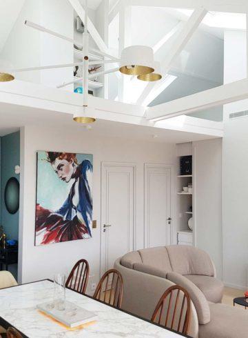 Un Appartement Design Totalement Repensé Par Arnaud Ronez