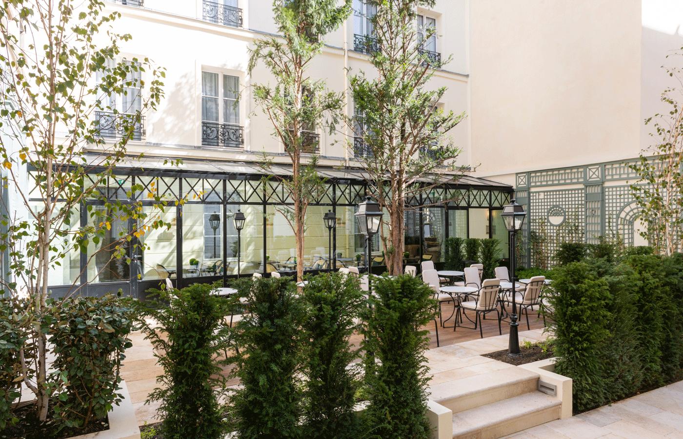 Hotel Byron jardin