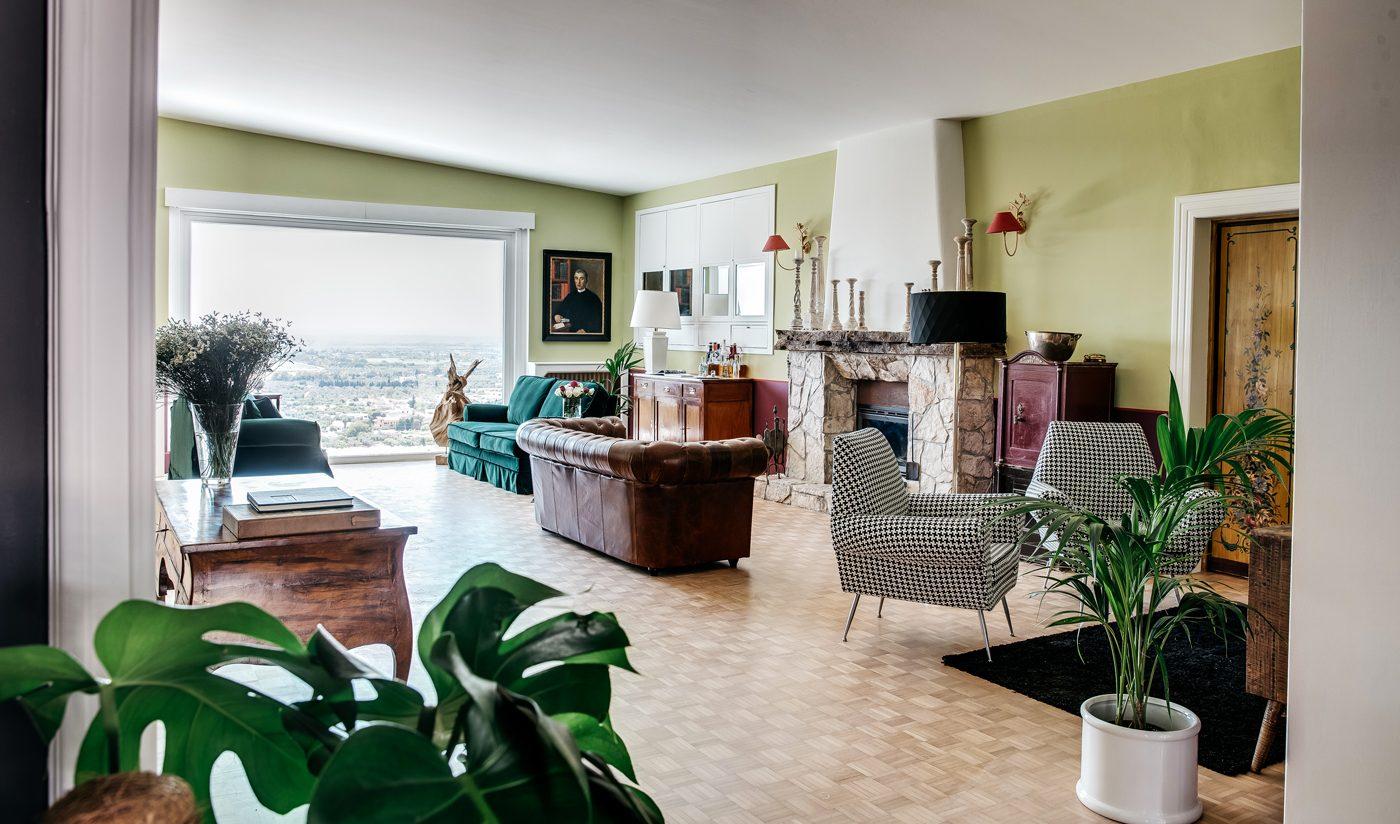 Villa De Donatis, salon